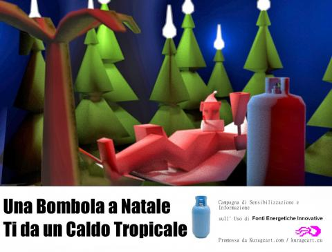 christmass gas cylinders