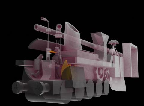 locomotiva futurista