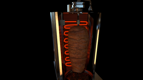 kebab romantico